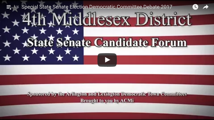 Arlington Candidates Night video